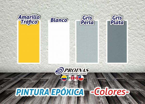 PINTURA EPOXICA – COLORES