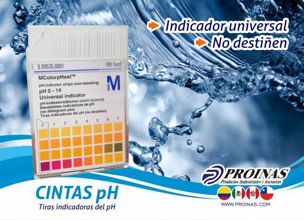 CINTAS pH